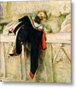 L'enfant Du Regiment Metal Print by Sir John Everett Millais