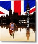 London Olympics 2012 Metal Print by Sharon Lisa Clarke