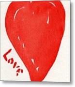Love Is.... Metal Print by Roger Cummiskey