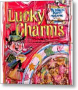 Lucky Charms Metal Print by Russell Pierce