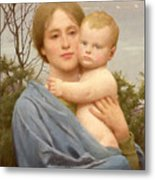 Madonna Of The Mount  Metal Print by Thomas Cooper Gotch