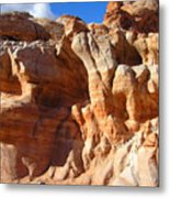Martian Cliffs Metal Print by Silvie Kendall