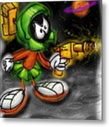 Marvin The Martian Metal Print by Russell Pierce