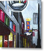 Memphis Metal Print by Helena M Langley