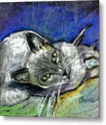 Michael Campbell Metal Print by Arline Wagner