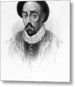 Michel Eyquem De Montaigne Metal Print by Granger