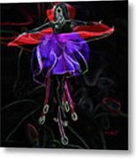 Midnight Bloom Metal Print by Torie Tiffany