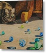 Mighty Hunter Metal Print by Karen Ilari