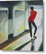 Mj One Of Five Number Three Metal Print by Patricia Arroyo