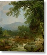 Monument Mountain - Berkshires Metal Print by Asher Brown Durand