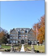 Moravian College Metal Print by Bill Cannon