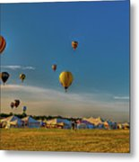 Morning Colors Metal Print by David Hahn