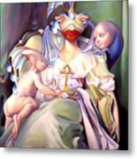 Mother And Child Reunion Metal Print by Patrick Anthony Pierson