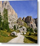 Mountain Road Metal Print by Nicolas Emery