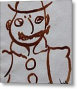 Mr Leopold Bloom Metal Print by Roger Cummiskey
