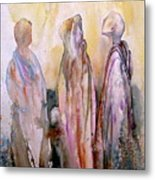 My Spirit Guides Metal Print by Wendy Hill