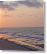 North Topsail Beach Glory Metal Print by Betsy C Knapp