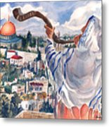 O Jerusalem Metal Print by Barbara Jung