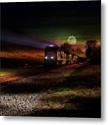 On The Prowl Metal Print by Rick Lipscomb