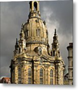 Our Lady's Church Of Dresden Metal Print by Christine Till