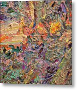 Paint Number 34 Metal Print by James W Johnson
