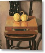 Painters Chest Metal Print by Raimonda Jatkeviciute-Kasparaviciene