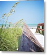 Path To Relaxation Vanilla Pop Metal Print by Chris Andruskiewicz