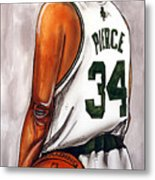 Paul Pierce - The Truth Metal Print by Dave Olsen