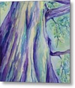 Perspective Tree Metal Print by Gretchen Bjornson
