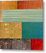 Pieces Project V Metal Print by Michelle Calkins