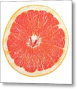 Pink Grapefruit Metal Print by James BO  Insogna
