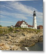 Portland Head Lighthouse Metal Print by Mike McGlothlen