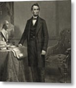 President Abraham Lincoln Metal Print by International  Images