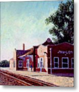 Railroad Station Metal Print by Stan Hamilton