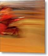 Red Hot Metal Print by Glennis Siverson