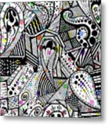 Released But Still Trapped Metal Print by Laree Alexander