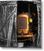 Relic From Past Times Metal Print by Heiko Koehrer-Wagner