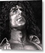 Roger Daltry Metal Print by Kathleen Kelly Thompson