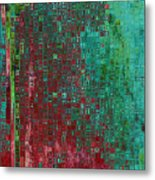 Rust Abstract Metal Print by Carol Groenen