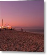 Seaside Park I - Jersey Shore Metal Print by Angie Tirado