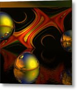 Solar Eclipse Metal Print by Sandra Bauser Digital Art