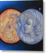 Solar Eclipse Metal Print by Sue Halstenberg