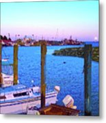 Southport Lights Metal Print by Garland Johnson