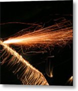 Sparks Will Fly Metal Print by Kristin Elmquist