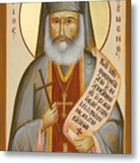 St Philoumenos Of Jacob's Well Metal Print by Julia Bridget Hayes