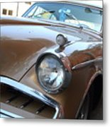 Studebaker Golden Hawk . 7d14181 Metal Print by Wingsdomain Art and Photography