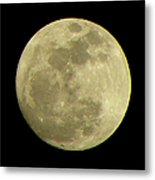 Super Moon March 19 2011 Metal Print by Sandi OReilly