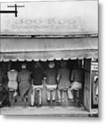 Texas: Luncheonette, 1939 Metal Print by Granger