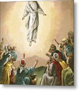 The Ascension Metal Print by English School