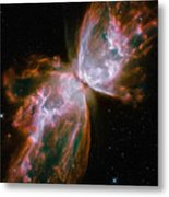 The Butterfly Nebula Metal Print by Stocktrek Images